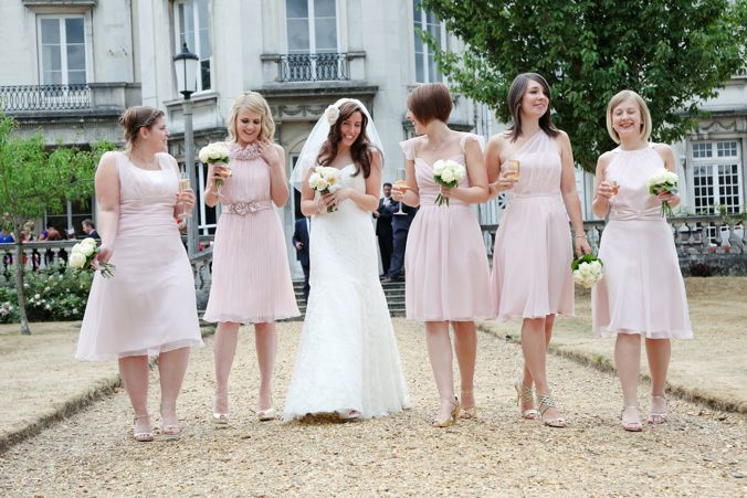64831f594ca Trend  Mismatched Bridesmaids
