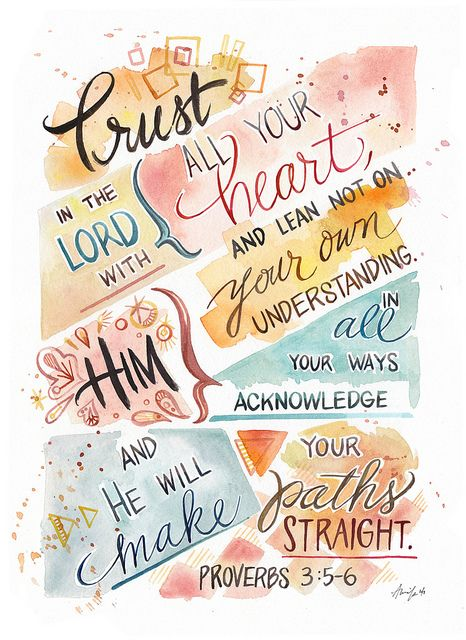Motivation: Trust in the Lord