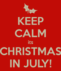 Chistmas in July