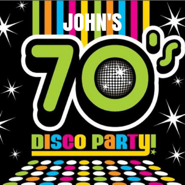 John's 70 Disco Party Logo
